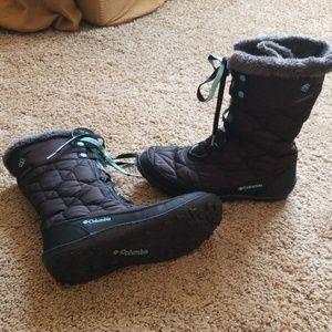 Columbia Minx omni-grip snowboots winter shoes 8